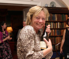 Wine tasting is surprisingly popular at Winton House