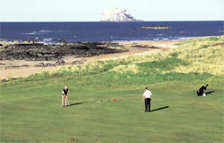 A challenging links course with breathtaking views