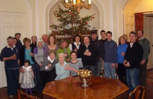 The Winton Estate team for the 2009 Christmas party