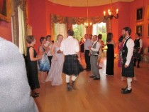A private party and ceilidh at Winton House near Edinburgh