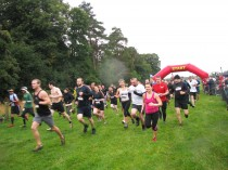 Spartan Race at Winton House