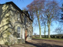 Wintonhill Farmhouse on a beautiful winters day