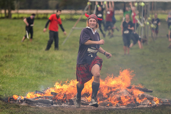 Francis Ogilvy at Edinburgh Spartan Sprint - Winton House