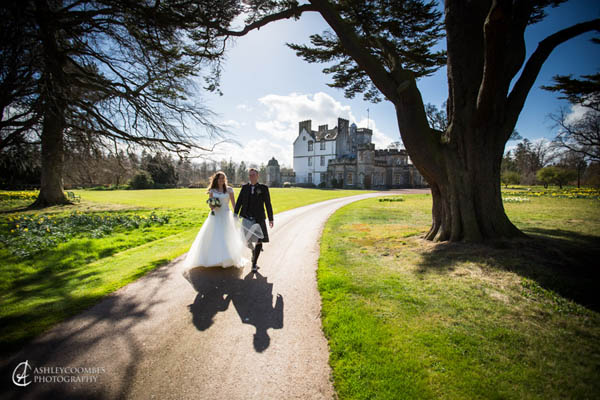 Heather Eadie marries Neil Gray at Winton House