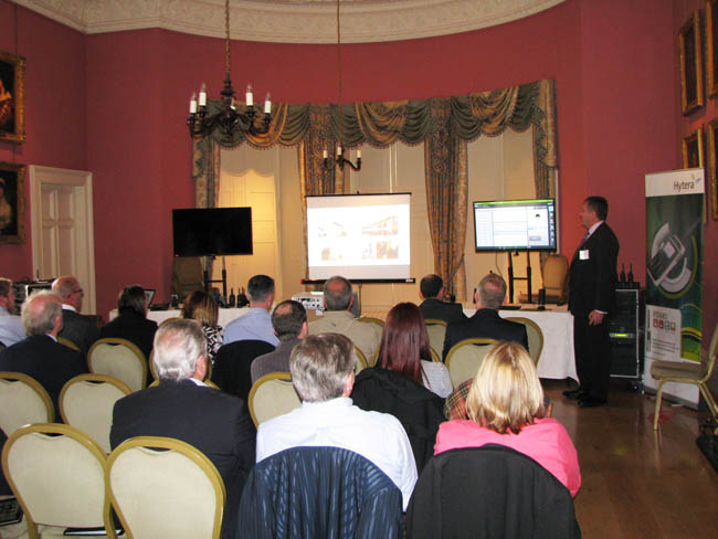 Conference in dining room - Winton House