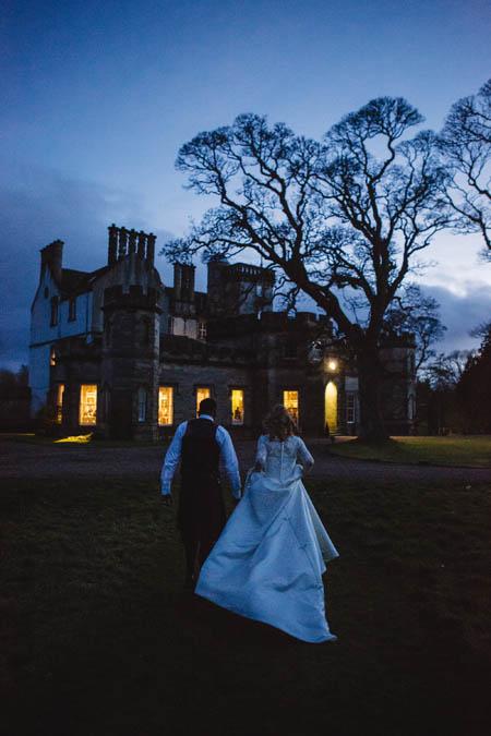 Fiona & Sacha Walking Bact to Winton House