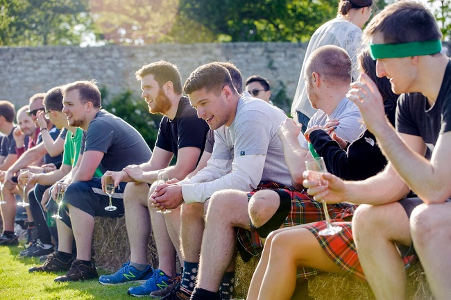 FanDuel spectators during Winton Highland Games