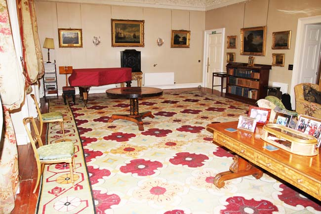 Scotland's Biggest Carpet Carpet Restored at Winton House.