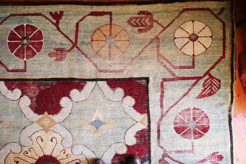 Winton House Carpet Before Restoration