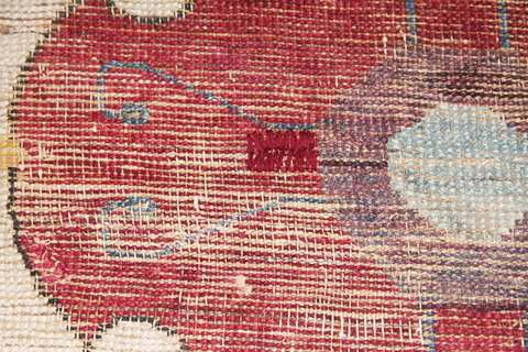 Details of Winton's Carpet Before Restoration