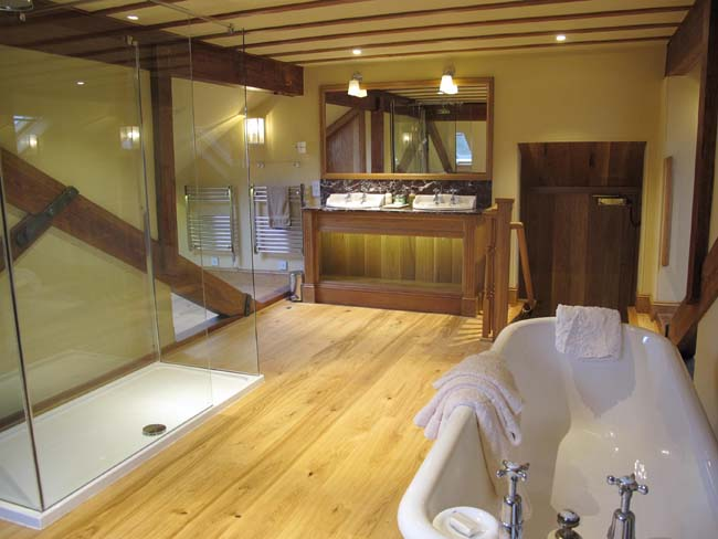Bridal Suite Ensuite Bathroom Winton House