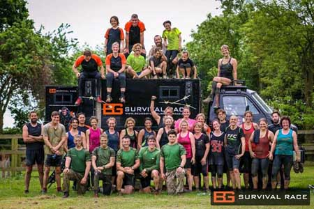 Bear Grylls Survival Race at Winton House 3rd Sept 2016