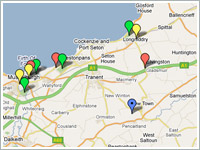 You can also see the locations of these pubs and restaurants on our Google map