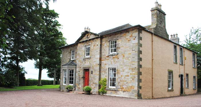 Wintonhill Farmhouse - self-catering house East Lothian