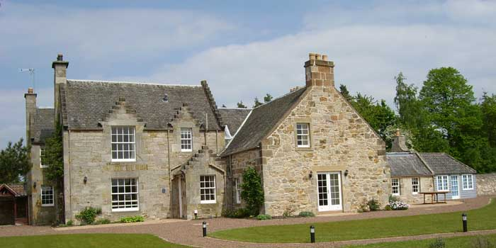 Winton Cottage self catering house near Edinburgh