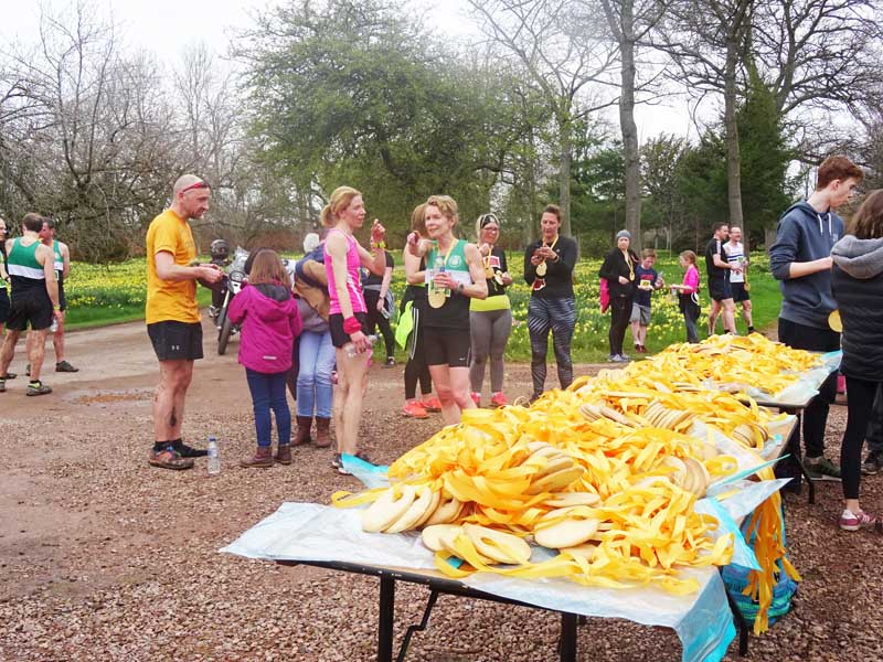 Winton Trail Run edible medals