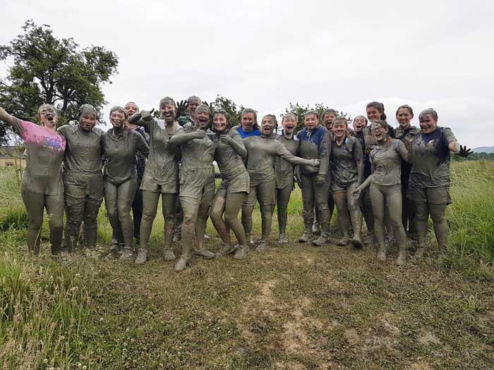 Obstacle course race OCR at Winton Castle