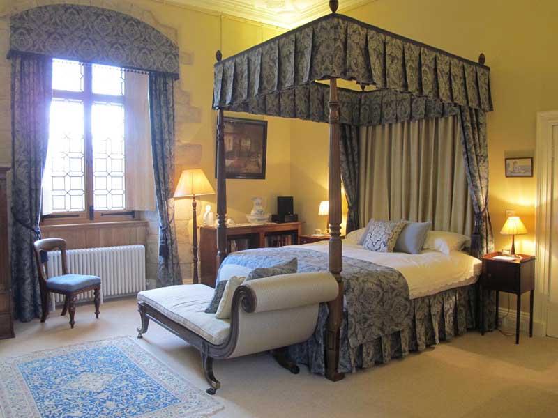 Honeymoon Suite at Winton Castle