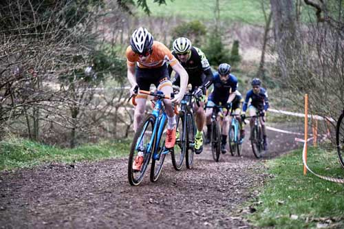 Cyclocross at Winton Castle