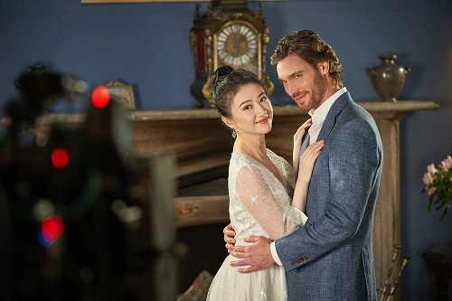 Superstar Jing Tian and actor Donnie Lewis in Chinese TV Advert - Freak Films