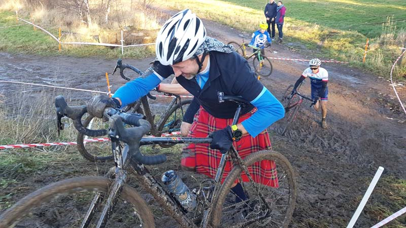 Francis Ogilvy at Thistly Cross Cyclocross Competition