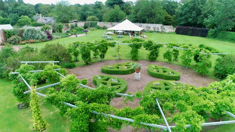 Winton Walled Garden Events Venue