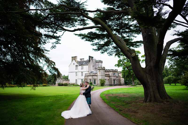 Emma and Bruce's Wedding at Winton Castle
