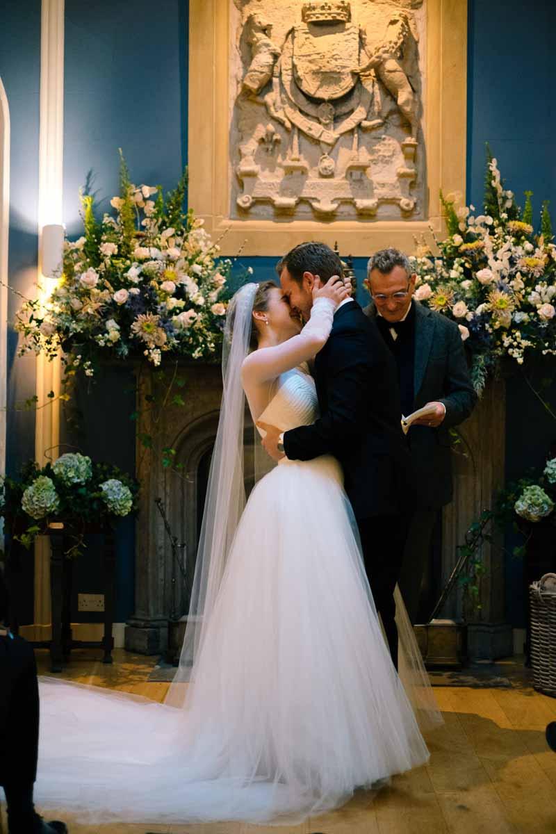 Micro-Wedding Couple at Winton Castle