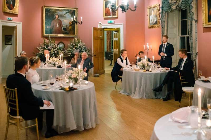 Micro-Wedding Party at Winton Castle