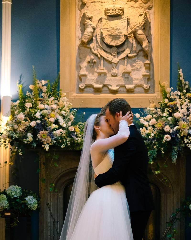 Winton Castle Micro Wedding Octagon Hall East Lothian Edinburgh Scotland